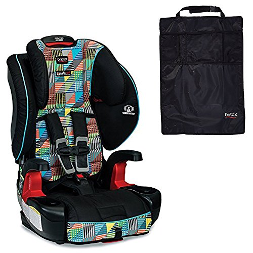 Britax Frontier ClickTight G1.1 Harness-2-Booster Car Seat & Kick Mats, Vector