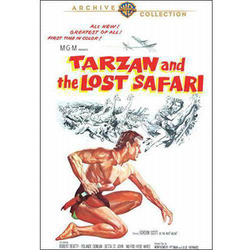 Tarzan And The Lost Safari (Full Frame)