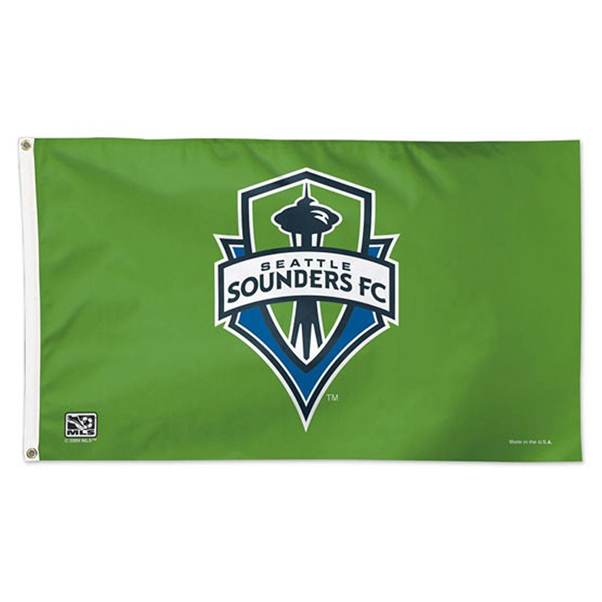 Seattle Sounders FC Official MLS 3' X 5' Banner Flag by Wincraft