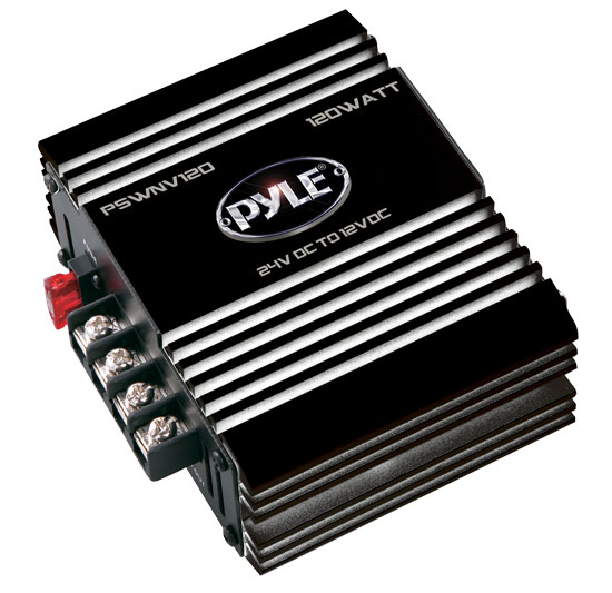 Pyle PSWNV120 DC Converter - 60 W For Light, CB Radio, Car Stereo