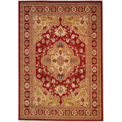 Well Woven Dulcet Raja Red Area Rug