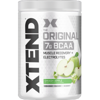 Xtend Original BCAA Powder, Branched Chain Amino Acids, Sugar Free Post Workout Muscle Recovery Drink with Amino Acids, 7g BCAAs for Men & Women, Smash Apple, 30 Servings