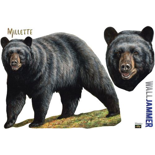 Advanced Graphics Cabela's Bear Wall Decal