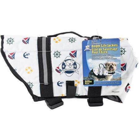 Paws Aboard Designer Doggy Life Jacket