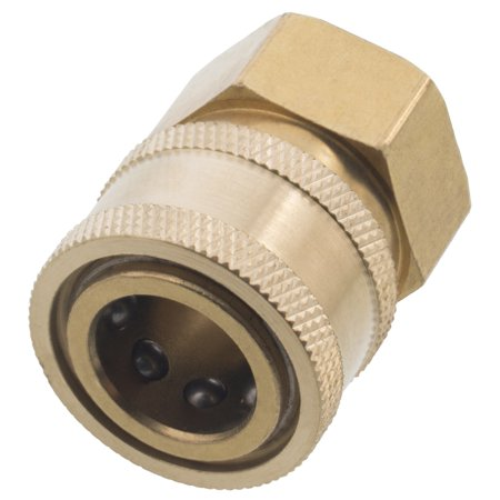 General Pump Pressure Washer 3/8in. Female NPT-F Quick Connect Coupler 4000 PSI (QTY 2)