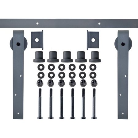 Calhome Exterior Steel Sliding Barn Door Hardware