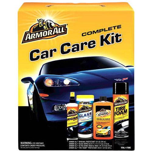 Armor All 4-Piece Complete Car Care Kit