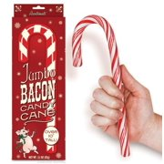 "Jumbo Bacon Flavored 10.25"" Candy Cane"
