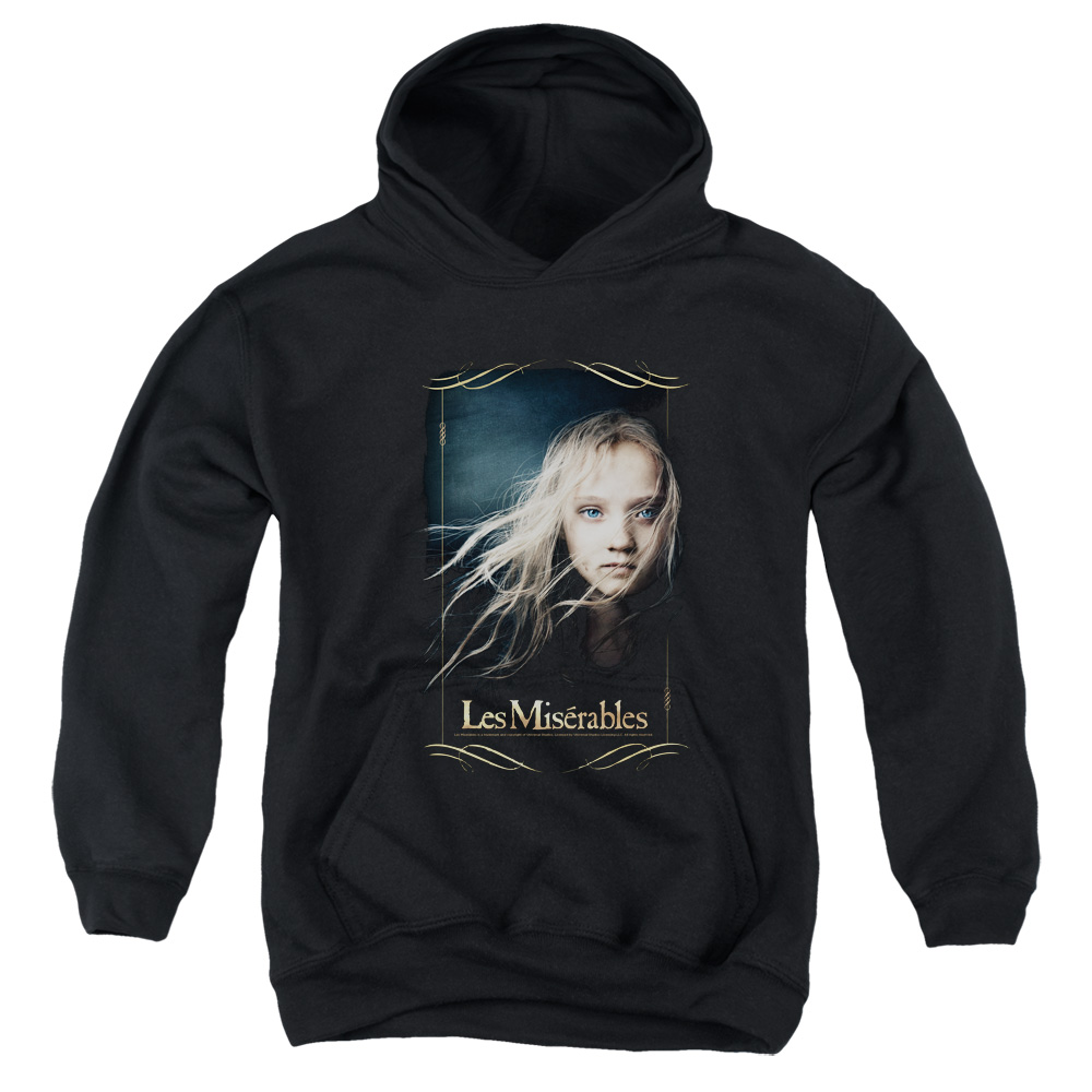 Les Miserables Cosette Big Boys Pullover Hoodie