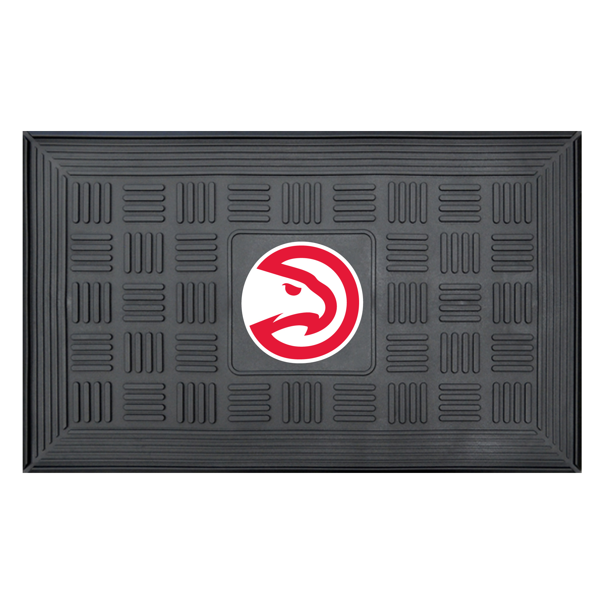 NBA Atlanta Hawks 3-D Team Medallion Vinyl Door Mat