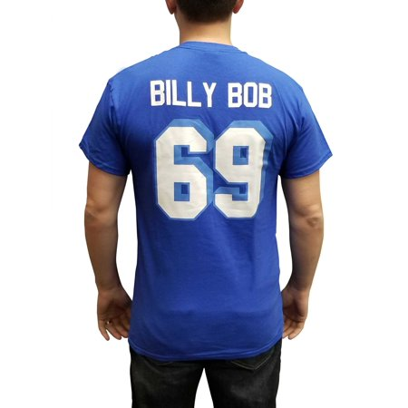 Billy Bob #69 Coyotes Jersey T-Shirt Varsity Blues West Canaan Football Movie West Ham Home Jersey