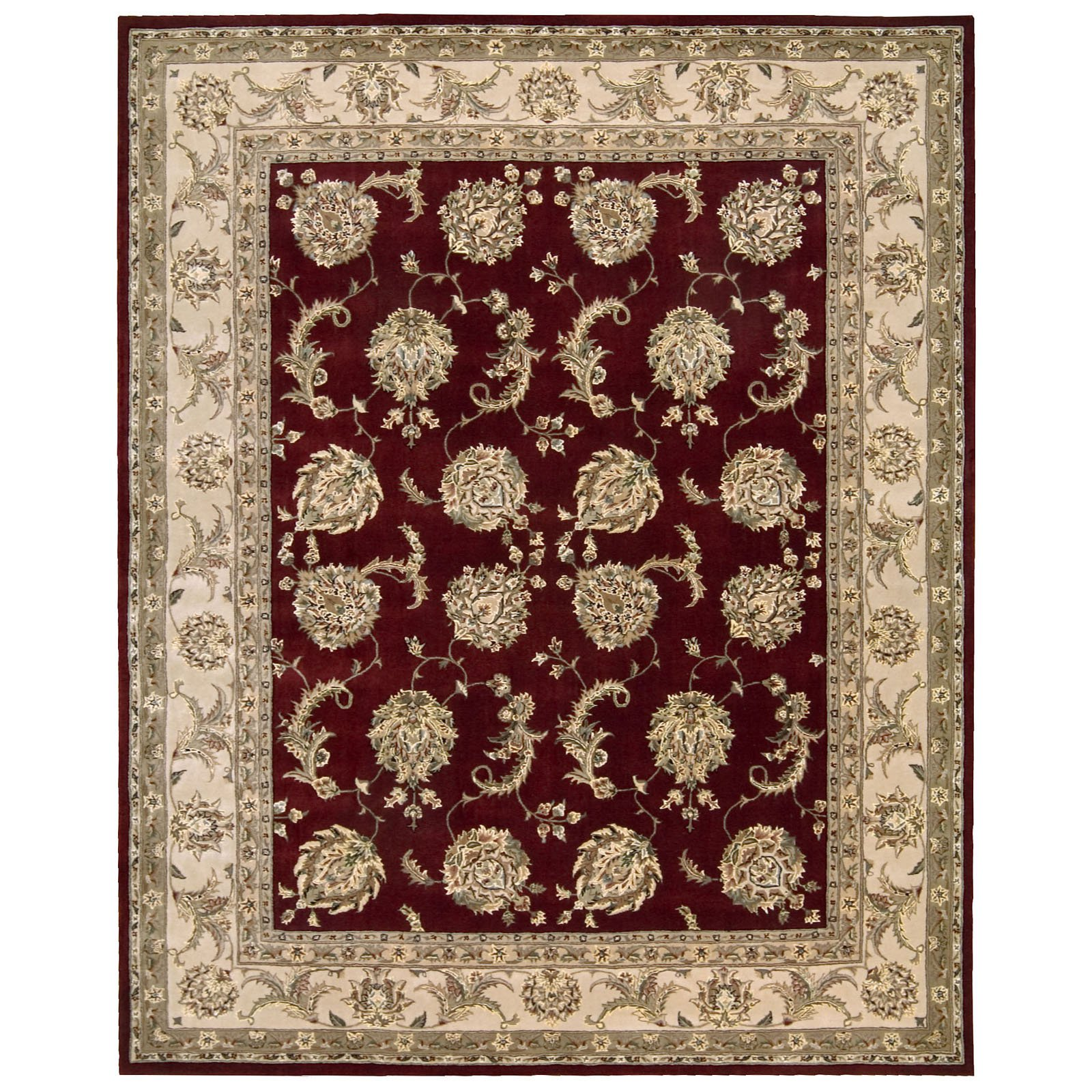Nourison 2000 2022 Oriental Rug Red-2 x 3 ft. by Nourison Rug Corp