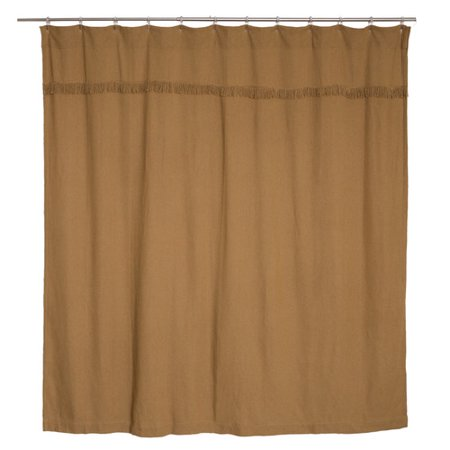 Laurel Foundry Modern Farmhouse Janna Cotton Burlap Unlined Shower Curtain
