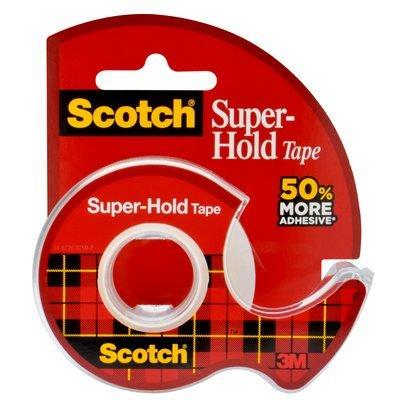 Scotch Super Hold Clear Tape Dispenser 3 4in X 650in