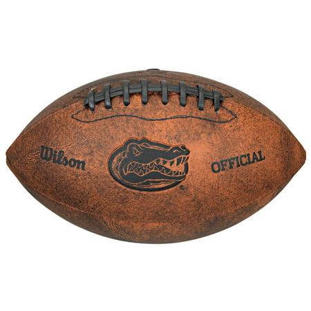 NCAA Vintage Football, University of Florida Gators - Florida Gators Plush Football