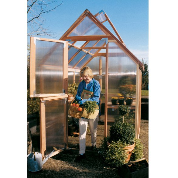 Sunshine Mt. Hood 6 x 8 Foot Greenhouse