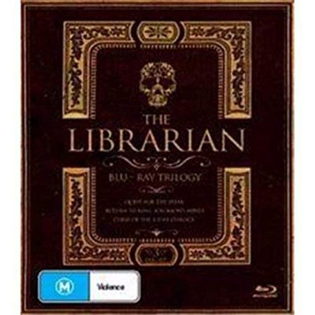 The Librarian Trilogy - 3-Disc Set ( The Librarian: Quest for the Spear / The Librarian: Return to King Solomon's Mines / The Librarian: The Curse of the Juda [ Blu-Ray, Reg.A/B/C Import - Australia