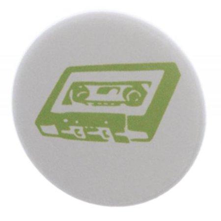 Neon Green Cassette Tape 1.25