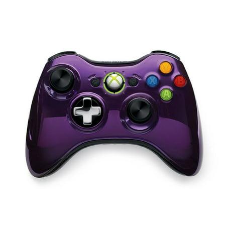Microsoft Xbox 360 Chrome Series Wireless ControllerXbox 360 Controller Chrome Series