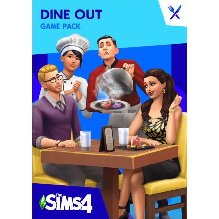 The Sims 4 Dine Out Expansion Game Pack, Electronic Arts (Digital (Best New Xbox One Games Coming Out)