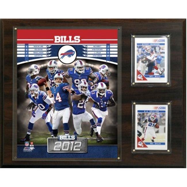 C & I Collectables 1215BILLS12 NFL Buffalo Bills 2012 Team Plaque - image 1 de 1