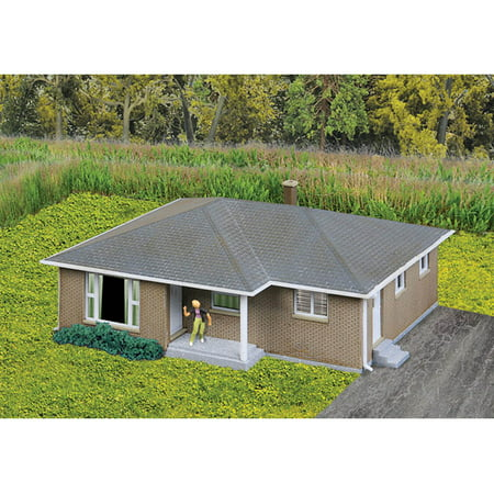 Walthers Cornerstone N Scale Building Structure Kit Brick