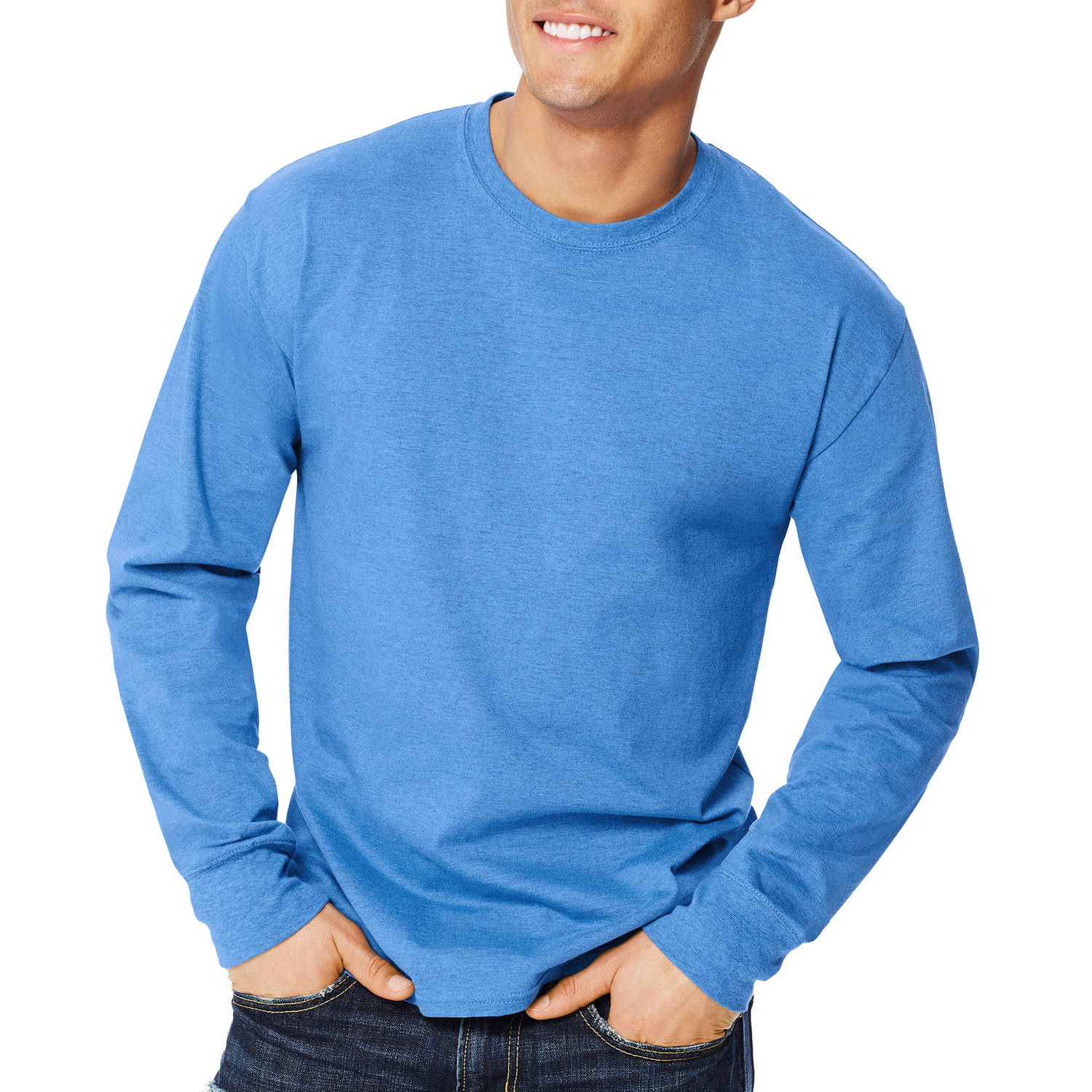 Hanes Men's X-temp Long Sleeve T-shirt