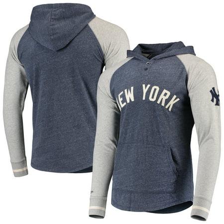 official photos fe1af 41443 New York Yankees Mitchell & Ness Slugfest Lightweight Hoodie - Navy