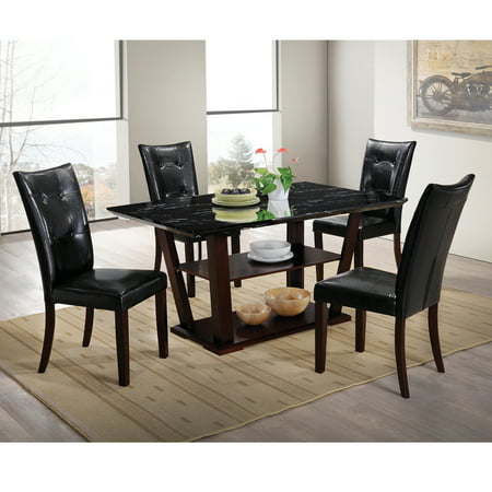 Home Source Lower Storage Faux Marble Dining SetHome Source Lower Storage Faux Marble Dining Set   Walmart com. Faux Marble Dining Set Walmart. Home Design Ideas