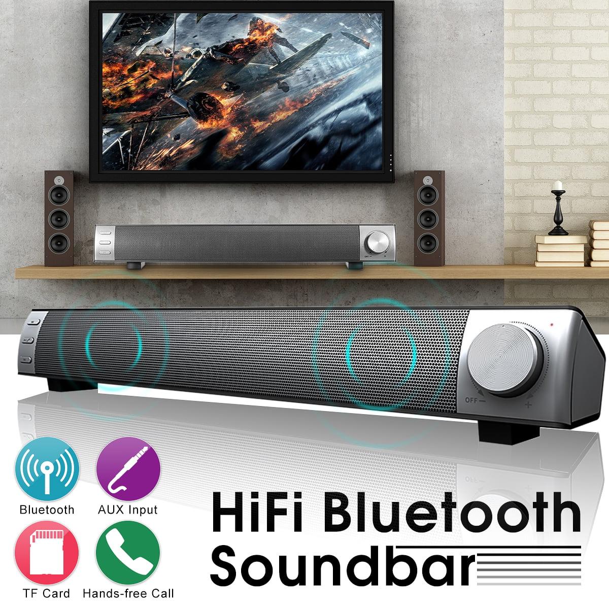 3D Surround Sound Bar System Subwoofer Music Wireless Bluetooth Soundbar Speaker