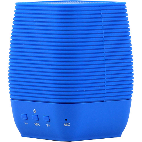 Supersonic Portable Bluetooth Rechargeable Speaker-Blue