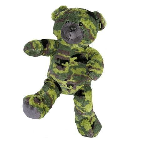 Cuddly Soft 16 inch Stuffed Camo Teddy Bear - We stuff 'em...you love 'em!](Camo Stuff)