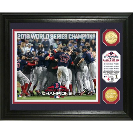 Boston Red Sox Highland Mint 2018 World Series Champions 13