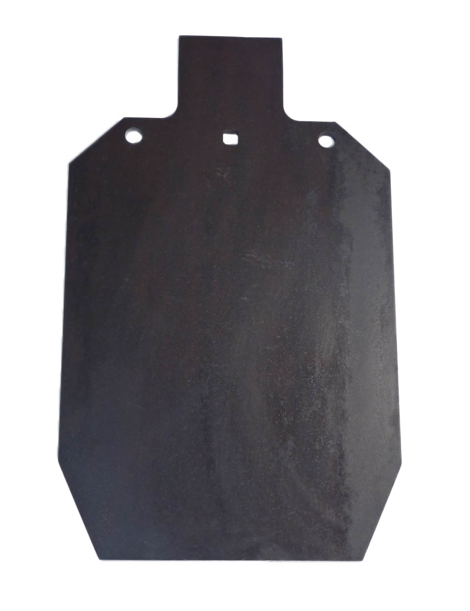 "Lot of 1 Laser Cut IDPA IPSC 2 3 AR500 Steel 12"" x 20""   3 8"" Shooting Target by Tactical Scorpion Gear"