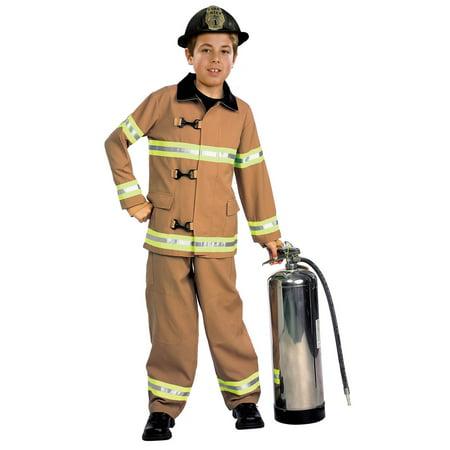 Firefighter Kids Costume - Smokin Hot Firefighter Costume