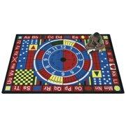 Joy Carpets Teach-A-Tot Kids Area Rug