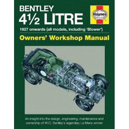 Haynes Bentley 4 1 2 Litre Owners Workshop Manual