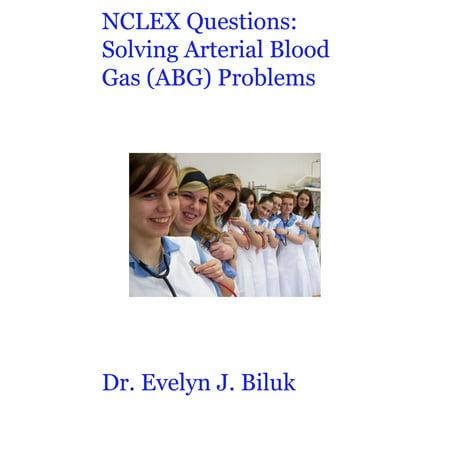 NCLEX Questions: Solving Arterial Blood Gas (ABG) Problems - (Venous Blood Gas Vs Arterial Blood Gas)