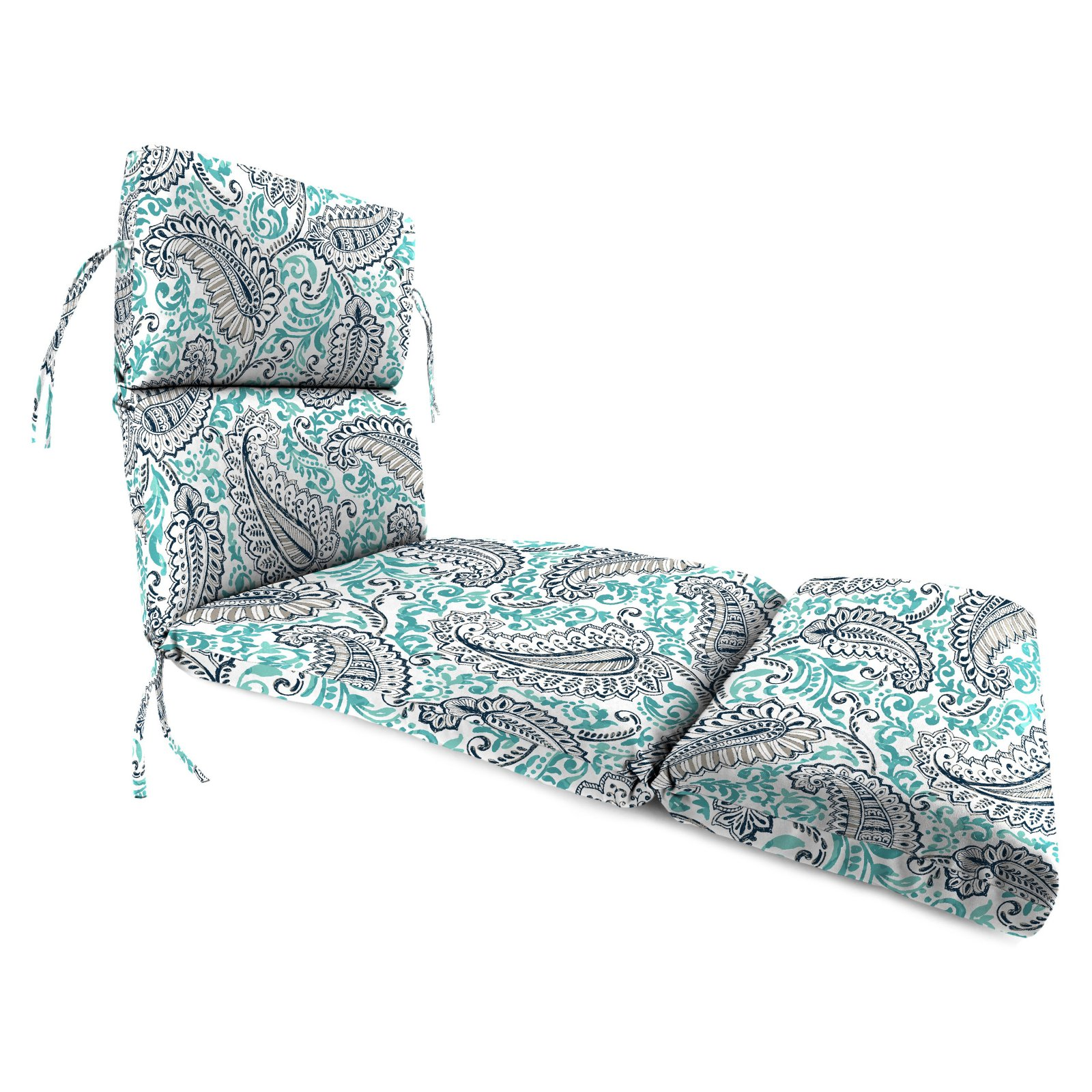 Jordan Manufacturing 74 in. French Edge Outdoor Shannon Chaise Lounge Cushion