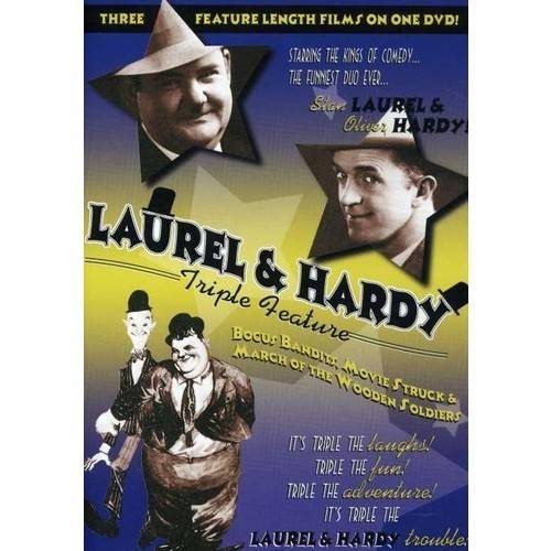Laurel & Hardy Triple Feature