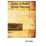 Studies in Modern German Literature
