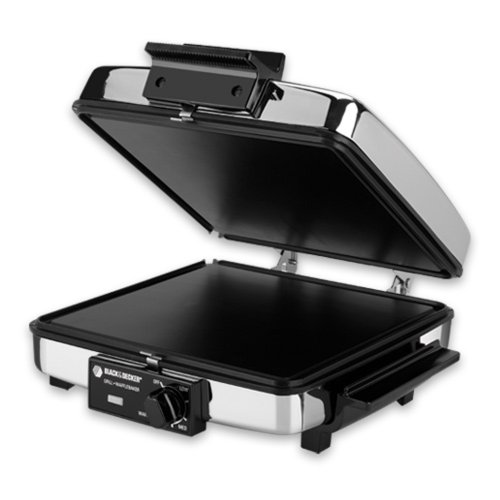 Spectrum Brands BLACK+DECKER G48TD 3-in-1 Waffle Maker & ...