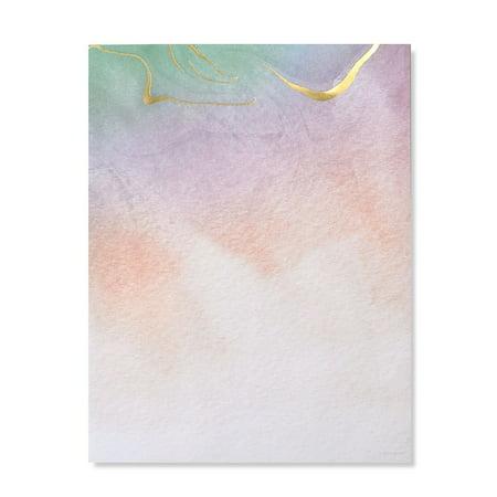 Gartner Studios Watercolor Marble Gold Foil Stationery, 40 count