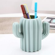 Cactus Pen Holder & Pencil Holders - Phone Holder Desk Organizer for Office Supplies Makeup Brush Classroom Organization for Women & Kids