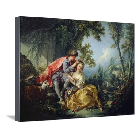 The Four Seasons: Spring Stretched Canvas Print Wall Art By Francois Boucher