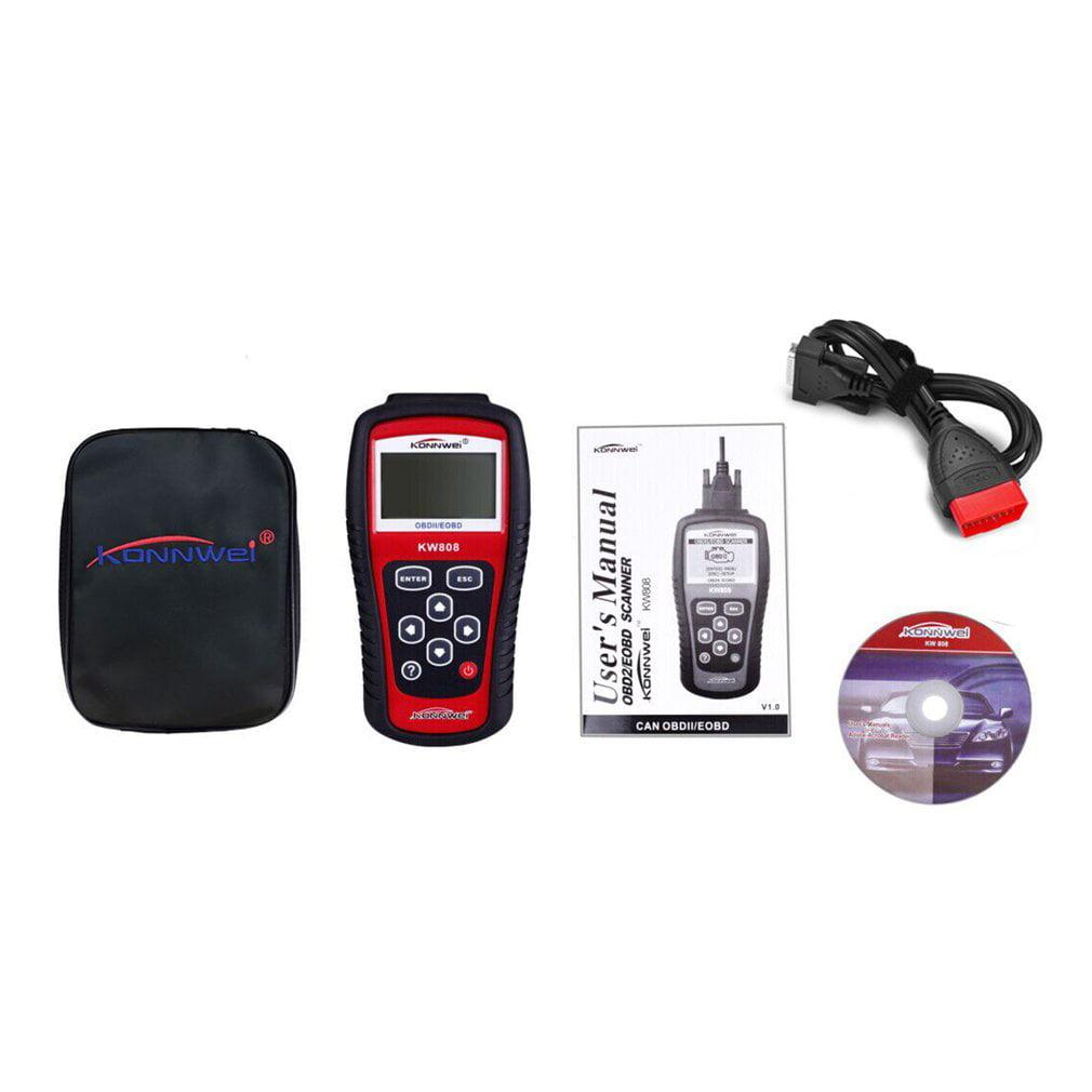 Reader Scantool Kw808 Professional Car Diagnostic Tool En...