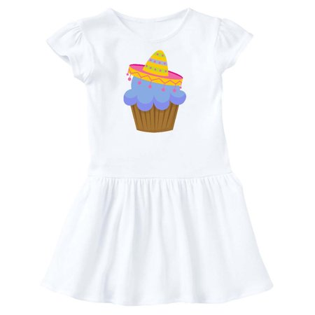 Fiesta Cupcake Cinco de Mayo Sombrero Toddler Dress