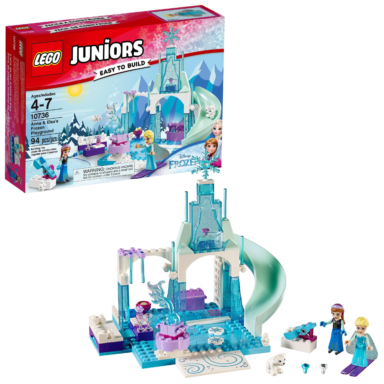 LEGO Juniors Anna & Elsa's Frozen Playground 10736 ...