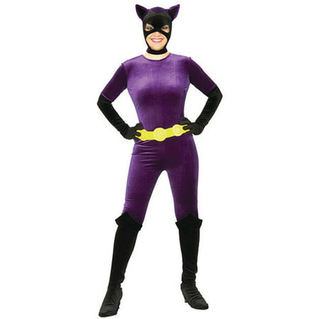 Catwoman Gotham Girls Adult Halloween Costume - Halloween Express Catwoman