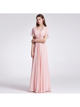 a9e1af908cf Product Image Ever-Pretty Womens Formal Evening Floor-Length Short Sleeve  Mother of the Bride Maxi